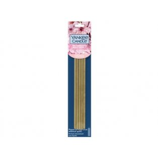 YANKEE CANDLE - CHERRY BLOSSOM  - aroma difuzér - vonné náhradní tyčinky - 1 ks