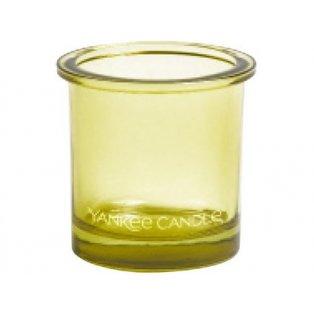 YANKEE CANDLE - POP TEA LIGHT - svícen na votivní svíčku - lime - 1 ks