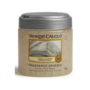 YANKEE CANDLE - WARM CASHMERE - voňavé perly spheres - 1ks