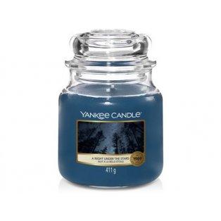 YANKEE CANDLE - NIGHT UNDER THE STARS - vonná svíčka - classic střední - 1 ks