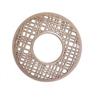 YANKEE CANDLE - CLARIDGE GOLD PUNCHED METAL - Illuma lid - ozdobný prstenec - 1 ks