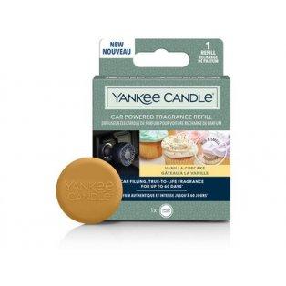 YANKEE CANDLE - VANILA CUPCAKE  - vonný difuzér do zapalovače - náhradní náplň - 1 ks