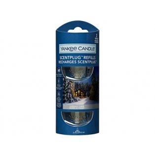 YANKEE CANDLE - CANDLELIT CABIN - náhradní náplň pro vůni do elektrické zásuvky  - 2 ks