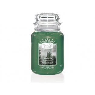 YANKEE CANDLE - EVERGREEN MIST - vonná svíčka - classic velký - 1 ks