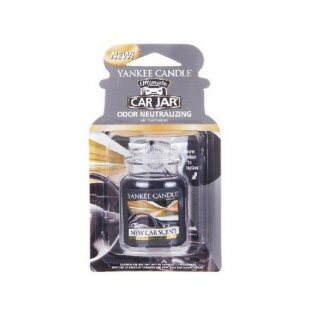 YANKEE CANDLE - NEW CAR SCENT - gelová visačka - 1 ks