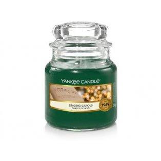 YANKEE CANDLE - SINGING CAROLS - vonná svíčka - classic malá - 1 ks