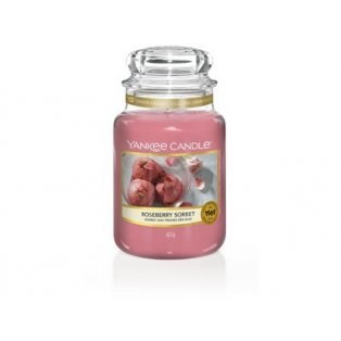 YANKEE CANDLE - ROSEBERRY SORBET - vonná svíčka - classic velký - 1 ks