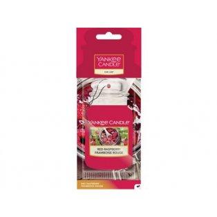 YANKEE CANDLE - RED RASPBERRY - papírová visačka - 1 ks