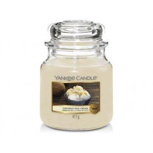 YANKEE CANDLE - COCONUT RICE CREAM - vonná svíčka - classic střední - 1 ks