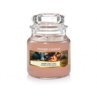 YANKEE CANDLE - WARM & COSY - vonná svíčka - classic malá - 1 ks