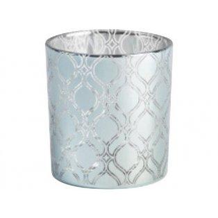YANKEE CANDLE - SAVOY - svícen na votivní svíčku modrý - 1 ks