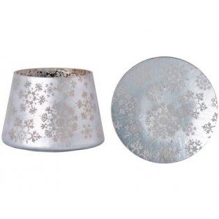 YC.Snowflake Frost/Stínítko velké + talíř velký