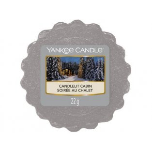 YANKEE CANDLE - CANDLELIT CABIN - vosk - 1 ks