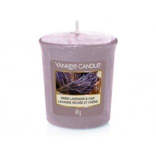 YANKEE CANDLE - DRIED LAVENDER & OAK - votivní svíčka - 1 ks