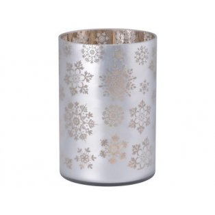 YANKEE CANDLE - SNOWFLAKE FROST - skleněný svícen na svíčku classic - 1 ks