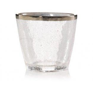 YANKEE CANDLE KENSIGTON METALIC BAND ON GLASS SVÍCEN NA VOTIVNÍ SVÍČKU