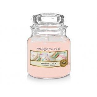 YANKEE CANDLE - RAINBOW COOKIE - vonná svíčka - classic malá - 1 ks