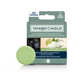 YANKEE CANDLE - VANILLA LIME - vonný difuzér do zapalovače - náhradní náplň - 1 ks