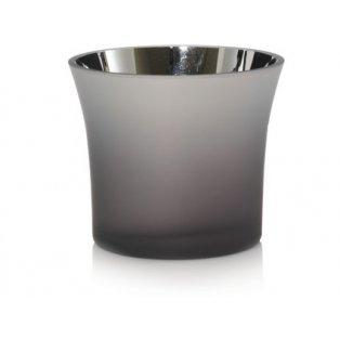 YANKEE CANDLE - SAVOY METALIC INTERIOR - svícen na votivní svíčku - 1 ks