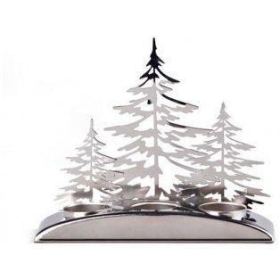 YANKEE CANDLE - SNOWY GATHERINGS - multi svícen na čajovou svíčku - 1 ks