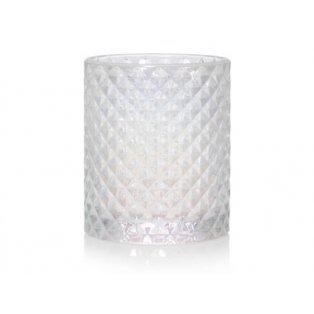 YANKEE CANDLE - LANGHAM FACETED GLASS  - svícen na votivní svíčku - 1 ks