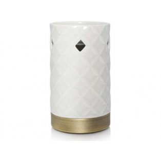YANKEE CANDLE - LANGHAM FACETED PUNCHED CERAMIC  - aromalampa - 1 ks