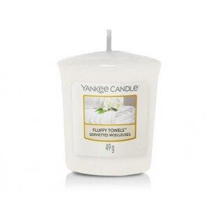 YANKEE CANDLE - FLUFFY TOWELS - votivní svíčka - 1 ks