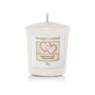 YANKEE CANDLE - SNOW IN LOVE - votivní svíčka - 1 ks