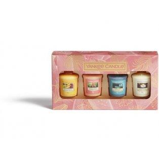 YANKEE CANDLE - dárková sada - 4 votivní svíčky - 1 ks