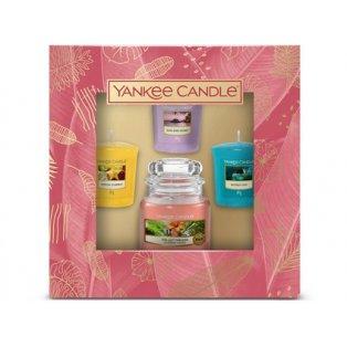 YANKEE CANDLE - dárková sada - classic malý + 3 votivní svíčky - 1 ks