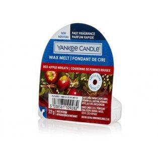 YANKEE CANDLE - RED APPLE WREATH - vonný vosk do aromalampy - 1 ks