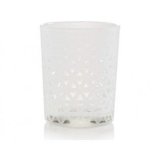 YANKEE CANDLE - BELMONT SANDBLASTED ON GLASS - svícen na votivní svíčku - 1 ks