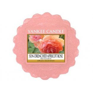 YANKEE CANDLE - SUN DRENCHED APRICOT ROSE - vosk - 1 ks