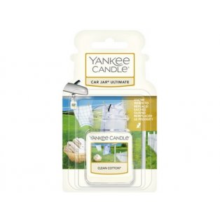 YANKEE CANDLE - CLEAN COTTON - gelová visačka - 1 ks