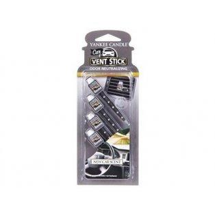 YANKEE CANDLE - NEW CAR SCENT - vonné kolíčky - 4 ks
