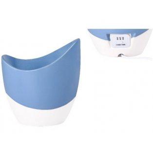 YANKEE CANDLE - SKYE - Scenterpiece aromalampa s časovačem - modrá - 1 ks