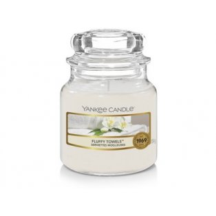 YANKEE CANDLE - FLUFFY TOWELS - vonná svíčka - classic malá - 1 ks