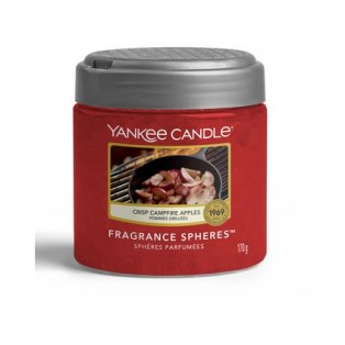 YANKEE CANDLE - CRISP CAMPFIRE APPLES  - voňavé perly spheres - 1ks