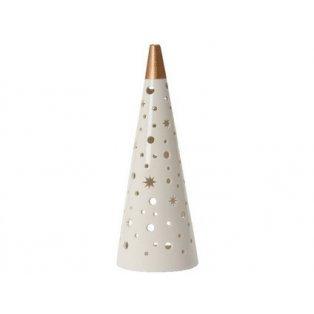YANKEE CANDLE - CHRISTMAS LUMINARIES - svícen na čajovou svíčku - Stínohra velká - 1 ks