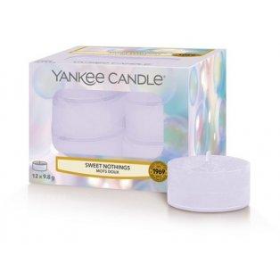 YANKEE CANDLE - SWEET NOTHINGS - čajové svíčky - 12 ks