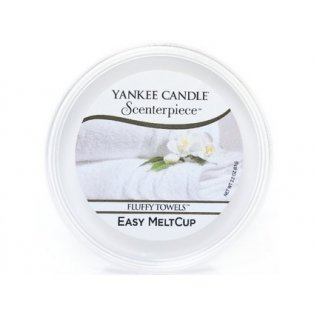 YANKEE CANDLE - FLUFFY TOWELS - Scenterpiece vosk - 1 ks