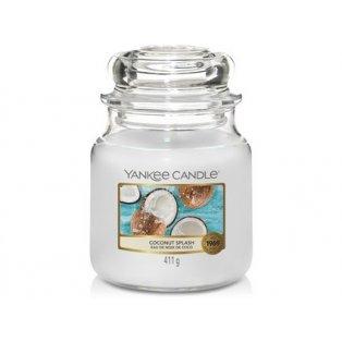 YANKEE CANDLE - COCONUT SPLASH - vonná svíčka - classic střední - 1 ks