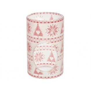 YANKEE CANDLE - RED NORDIC FROSTED GLASS  - aromalampa - 1 ks
