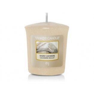 YANKEE CANDLE - WARM CASHMERE - votivní svíčka - 1 ks