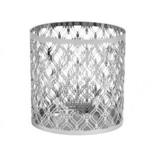YANKEE CANDLE - SAVOY METAL - kovový svícen na svíčku classic - fialový  - 1 ks