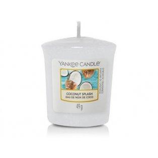 YANKEE CANDLE - COCONUT SPLASH - votivní svíčka - 1 ks