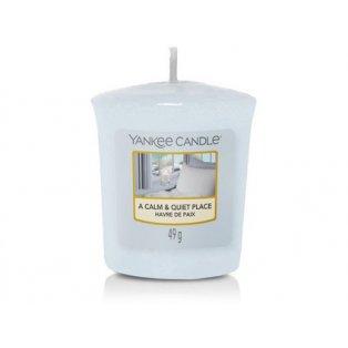 YANKEE CANDLE -  CALM & QUIET PLACE - votivní svíčka - 1 ks