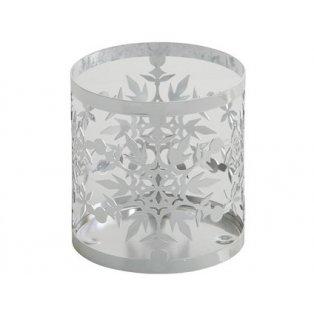 YANKEE CANDLE - TWINKLING SNOWFLAKE - kovový svícen na svíčku - 1 ks