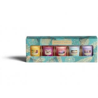 YANKEE CANDLE - dárková sada - 5 votivních svíček - 1 ks