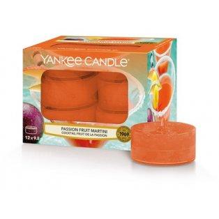 YANKEE CANDLE - PASSION FRUIT MARTINI - čajové svíčky - 12 ks